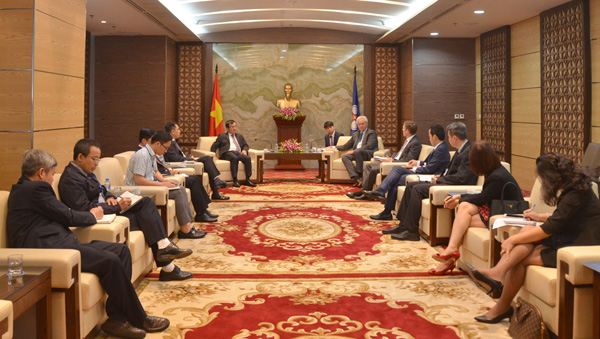 Duong Quang Thanh welcomed GE